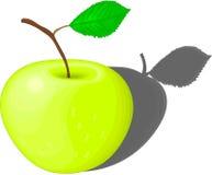 Żółty jabłko Zdjęcie Royalty Free