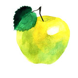 Żółty jabłko Obrazy Royalty Free