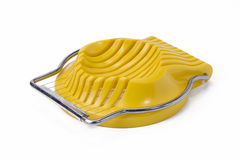 Żółty Jajeczny Slicer fotografia royalty free
