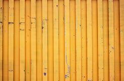 Żółty kontener Zdjęcia Royalty Free