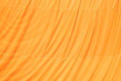 Żółty kontusz mnicha buddyjskiego wzoru tło Zdjęcia Royalty Free