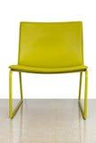 Żółty krzesło Zdjęcia Stock