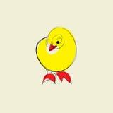 Żółty kurczak royalty ilustracja