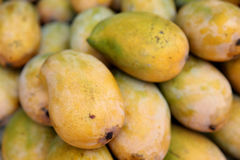 Żółty mango Zdjęcie Stock