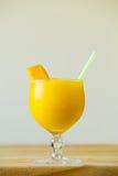 Żółty Mangowy Margarita Obrazy Stock