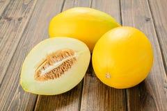Żółty melon obraz royalty free