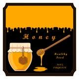 Żółty miód royalty ilustracja