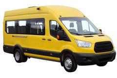 Żółty minibus zdjęcie royalty free