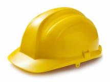 Żółty mocniej kapelusza Zdjęcie Stock