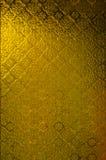 Żółty nadokienny szkło Obraz Stock