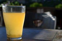 Żółty napój Zdjęcie Stock