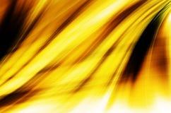 Żółty nowoczesna technologia Abstrakcjonistyczny tło Zdjęcie Royalty Free