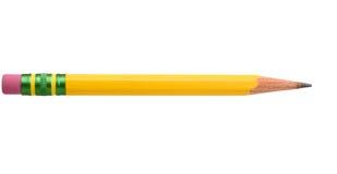 Żółty ołówek Zdjęcie Royalty Free