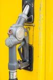 Żółty paliwowy nozzle Obrazy Stock