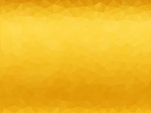 Żółty poligonalny tło Zdjęcie Royalty Free