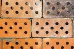 Żółty stary brudny cegły tło Zdjęcie Royalty Free