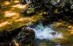 Żółty strumień Zdjęcie Stock