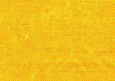 Żółty tekstylny tło, kolorowy tło Fotografia Royalty Free