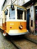 Żółty tramwaj Obraz Royalty Free