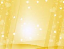 Żółty uroczy tło Zdjęcia Royalty Free