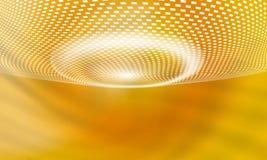 Żółty wektorowy abstrakcjonistyczny tło ilustracja wektor
