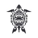 Żółwia tatuażu nakreślenie Obrazy Stock