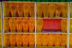 Żółci kolorów balony Obraz Stock