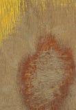 Żółta drewniana tekstura Zdjęcie Stock