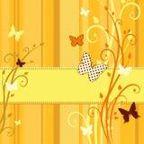 Żółta kartka Obrazy Stock