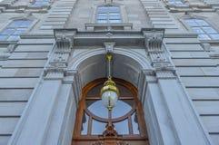 Żółta lampa Obrazy Royalty Free