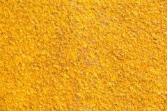Żółta piaskowata tekstura obrazy royalty free