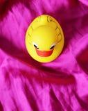 Żółta retro kaczka Zdjęcia Royalty Free