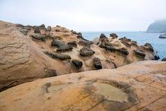 Żółty Geopark Fotografia Royalty Free