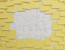Żółty majcher Fotografia Stock