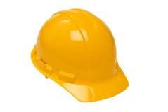 Żółty mocniej kapelusza Zdjęcia Stock
