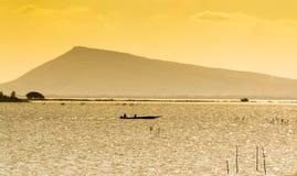 Żółty morze Zdjęcia Stock