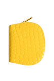 Żółty portfel Obrazy Royalty Free