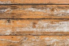 Żółty Stary drewno fotografia stock