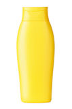 Żółty szampon Zdjęcia Royalty Free