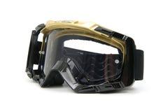 Óculos de proteção #4 de Moto Fotografia de Stock