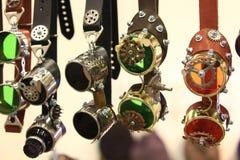 Óculos de proteção da motocicleta do desenhista Imagem de Stock Royalty Free