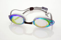 Óculos de proteção da natação Imagens de Stock