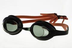 Óculos de proteção da natação Foto de Stock Royalty Free