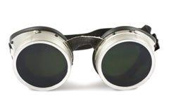 Óculos de proteção da soldadura Foto de Stock