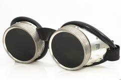 Óculos de proteção da soldadura Foto de Stock Royalty Free