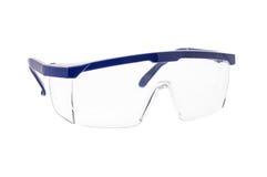 Óculos de proteção de segurança químicos Fotografia de Stock Royalty Free
