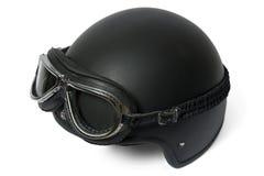 Óculos de proteção do ADN do capacete Imagem de Stock