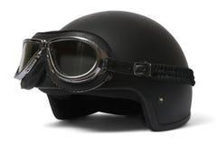 Óculos de proteção do ADN do capacete Imagens de Stock