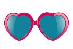 Óculos de proteção do amor Imagens de Stock Royalty Free