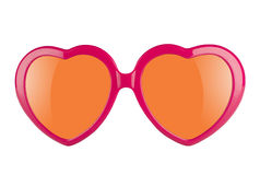 Óculos de proteção do amor Fotos de Stock Royalty Free
